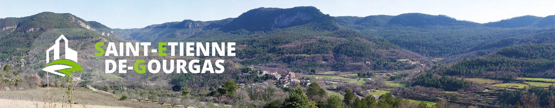 Village de Saint-Etienne-de-Gourgas